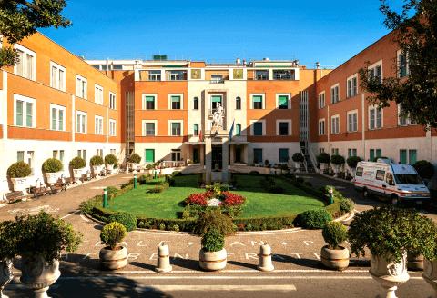 L'ospedale San Pietro